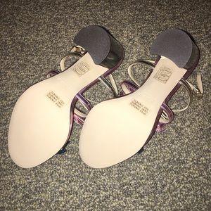 d0f072240a27 J. Crew Shoes - J. Crew Stella Bow Heels in Metallic Emerald (NIB